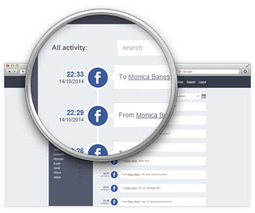 spiare profili facebook