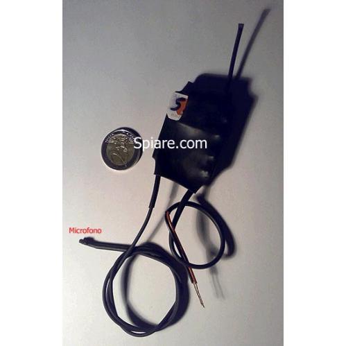 Microspia Gsm inguainata con microfono esterno regolabile a distanza