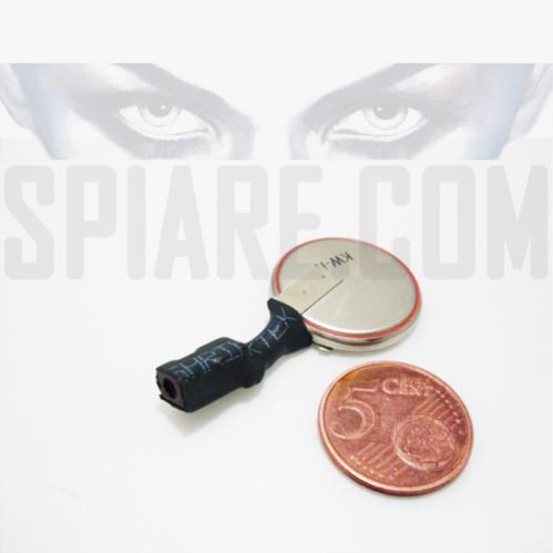 Batteria per microregistratore audio spia