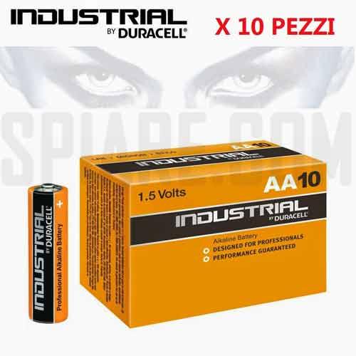 Batterie Stilo Duracell Industrial (AA)