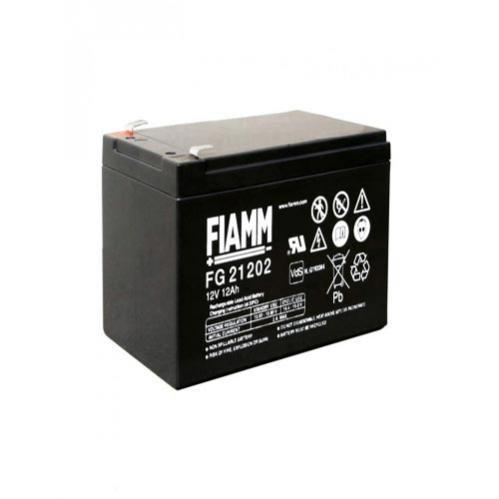 Batteria ricaricabile stagna al piombo 12 Volt 12Ah Fiamm FG21202