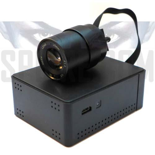 Mini DVR Wifi Spia con Telecamera e Teleobiettivo