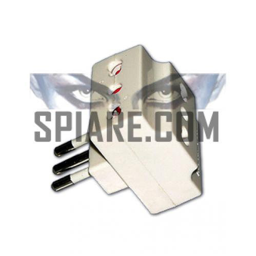 Kit Microspia nascosta in tripla spina con ricevitore dedicato