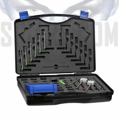 Valigetta kit serrature doppia mappa con grimaldelli for Aprire le planimetrie con seminterrato