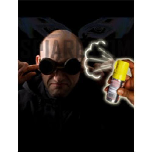 Allarme acustico in bomboletta di spray antiaggressione