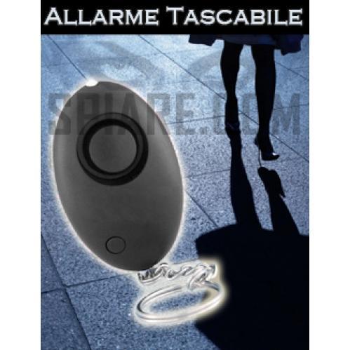 Allarme tascabile antiaggressione per difesa personale