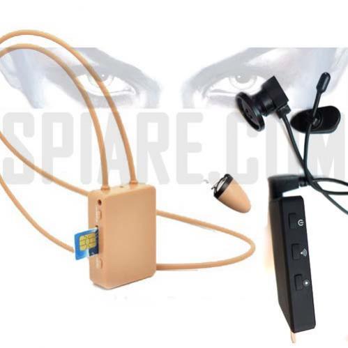 Auricolari nascosti Microcamera con DVR Wifi
