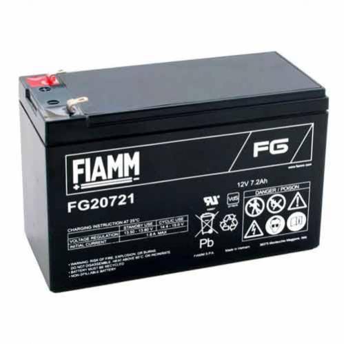 Fiamm FG20721 Batteria ermetica al piombo 12V 7,2Ah