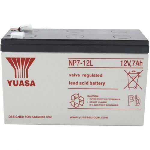 Batteria al piombo 12 V 7 Ah Yuasa NP7-12 L
