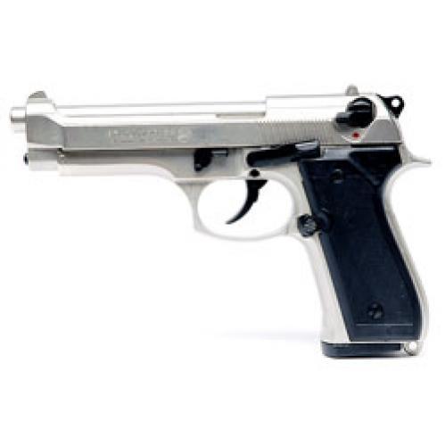 Pistola a Salve Bruni stile Beretta M92 INOX - 8mm SEMI-AUTOMATICA