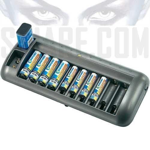 Caricabatterie universale NiCd NiMH Basetech BTL-12 Blocco