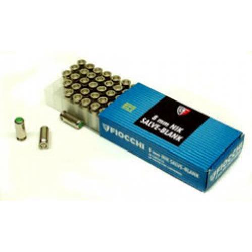 CARTUCCE a SALVE FIOCCHI 8mm in OTTONE 50 Pezzi