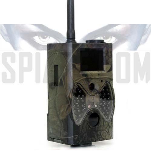 Fototrappola Telecamera GSM da esterno con infrarossi invisibili