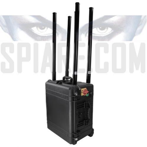 Jammer portatile contro ordigni esplosivi e Cellulari a 6 Bande massimo 460W  uso protezione VIP