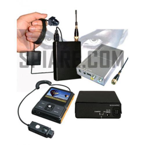 KIT  Video Professional 2 con mini telecamera senza fili