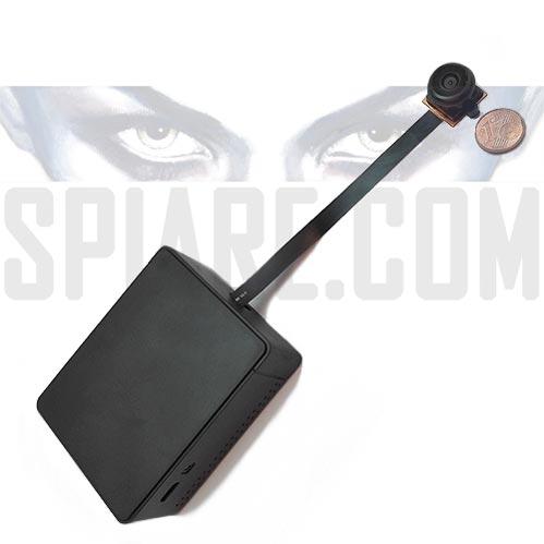 Telecamera Spia WiFi con Obiettivo grandangolare 210°
