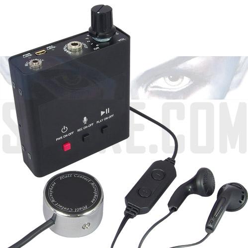 Microfono da Muro con Registratore Vocale