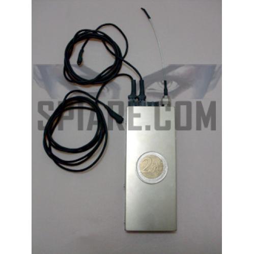 Microspia GSM professionale con due microfoni esterni