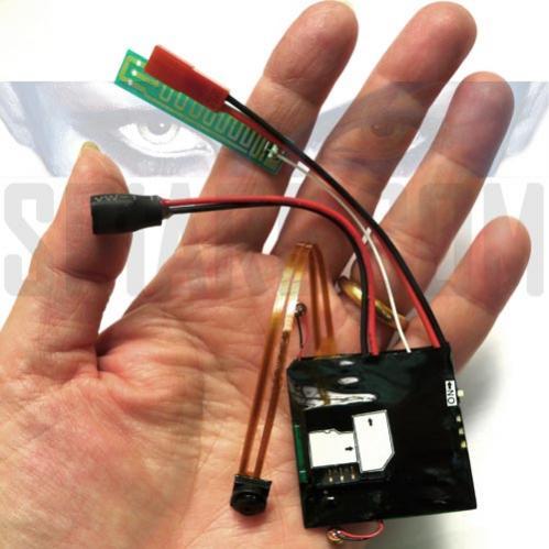 Microspia Video Audio GSM - Micro Telecamera UMTS con Memoria Micro SD