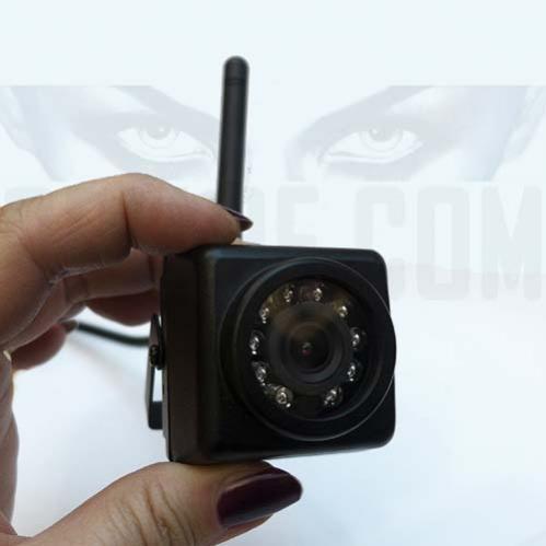 Mini Telecamera Spia Da Esterno Wifi Con Led Infrarossi Invisibili