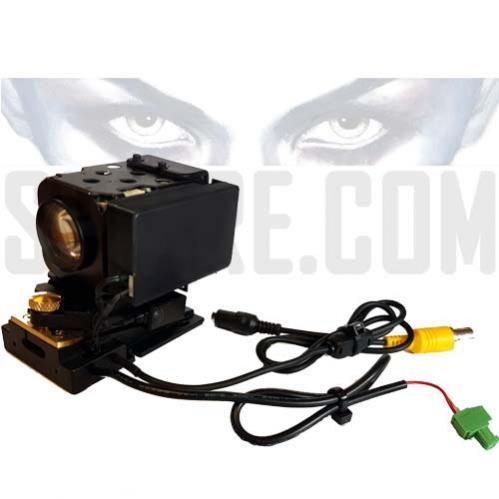 Mini Telecamera motorizzata brandeggiata PTZ zoom 12x da occultamento