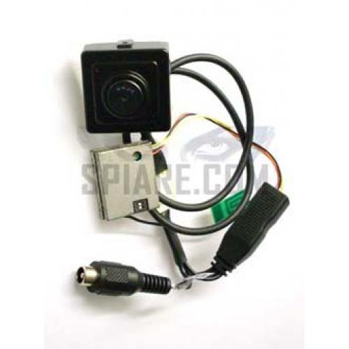Micro Telecamera wireless  con trasmettitore audio/video