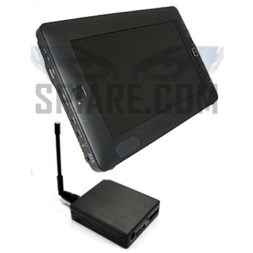 Monitor Televisore con Ricevitore Video  Audio a wireless 16 canali