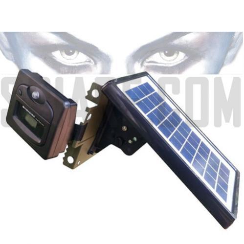 Pacco batteria fotovoltaico con Pannello Solare per alimentazione Telecamera da Esterno Notturna