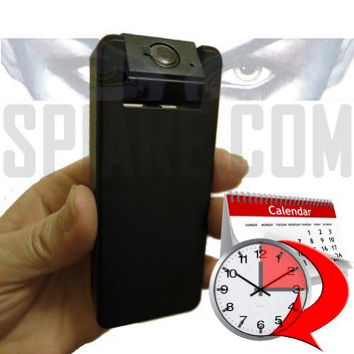 Piccola Telecamera nascosta grandangolo 160° con Timer a lunga durata, registra su Micro SD
