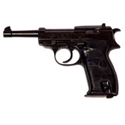 Pistola a Salve Bruni stile Walther P38 SEMI-AUTOMATICA