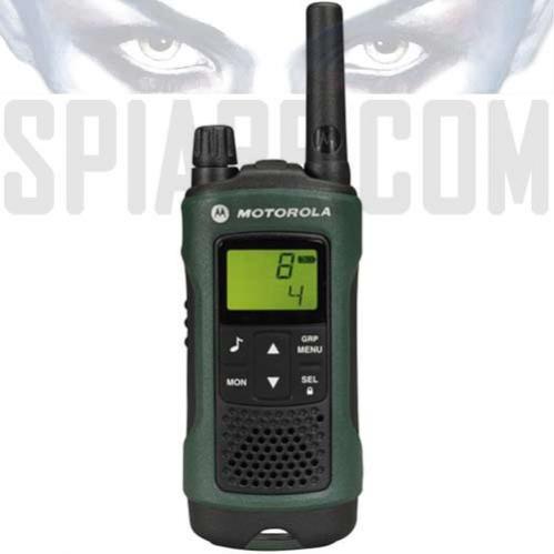Walkie Talkie Ricetrasmittente Motorola TLKR T81 HUNTER Radio PMR portatile