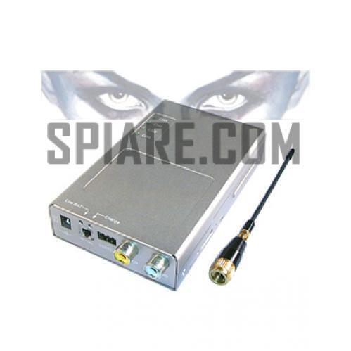 Ricevitore video portatile a 4 canali con batteria ricaricabile Li-ion