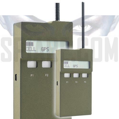 Rilevatore professionale di Jammer di Cellulari e GPS e di trasmissioni nelle Bande UHF/VHF