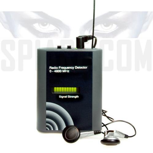 Rilevatore di microspie ambientali e telefoniche