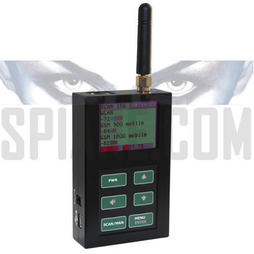 Apparecchio professionale per trovare Cellulari, Microspie digitali e telecamere UMTS