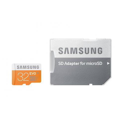 Scheda di Memoria Micro SD da 32 Gb classe 10 con adattatore