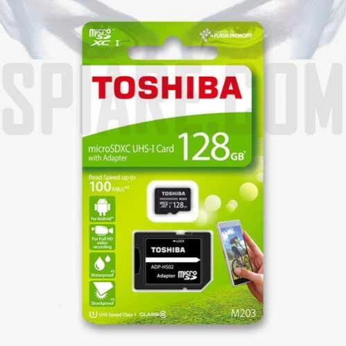 Scheda di memoria Toshiba microSDXC M203 da 128 GB