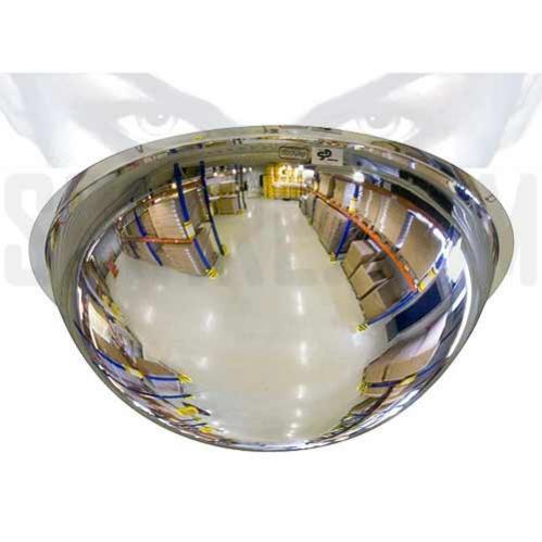 Specchi parabolici di sicurezza a forma di mezza sfera