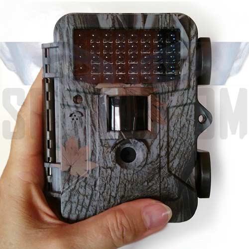 Telecamera fototrappola notturna con registratore su memoria SD