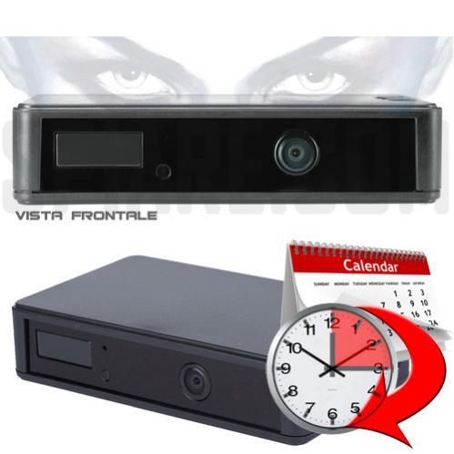 Telecamera Spia Notturna HD ad Infrarossi con sensore PIR