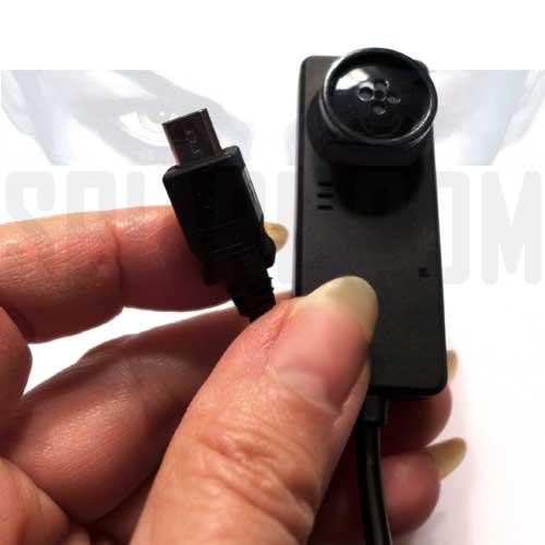 Telecamera Spia nascosta a Bottone per ANDROID OTG