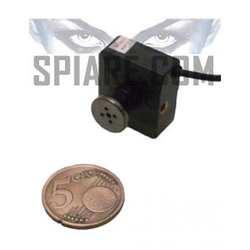 Microtelecamera  a bottone da indossare
