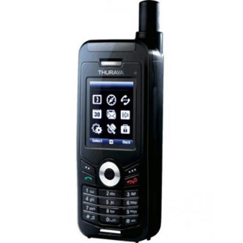 Telefono satellitare per telefonate sicure Thuraya XT con carta SIM degli Emirati Arabi