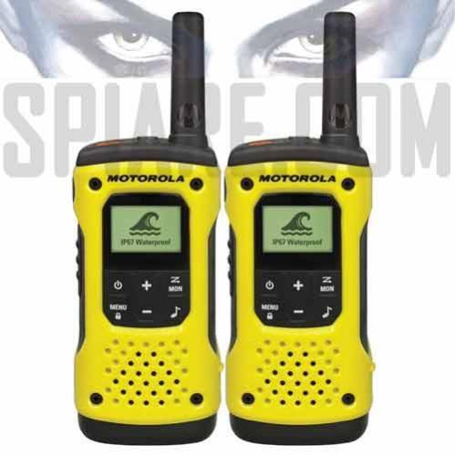 Walkie Talkie Ricetrasmittenti Motorola T92 H2O