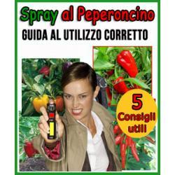 Come usare lo spray al peperoncino?