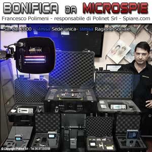 Bonifica Microspie Polinet Srl Polimeni Francesco