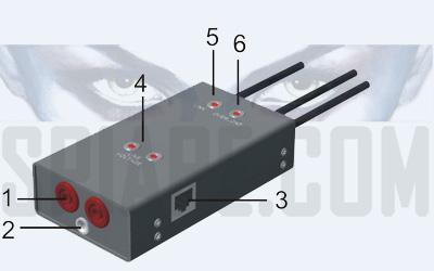 Adattatore per la bonifica di reti cablati sistemi di trasmissione tramite filo