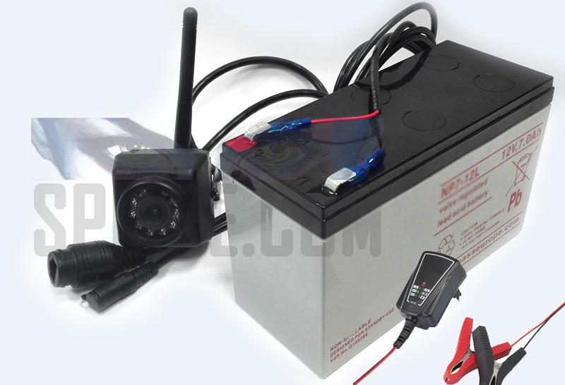 Telecamera Nascosta Da Esterno : Kit videosorveglianza per esterno con mini telecamera