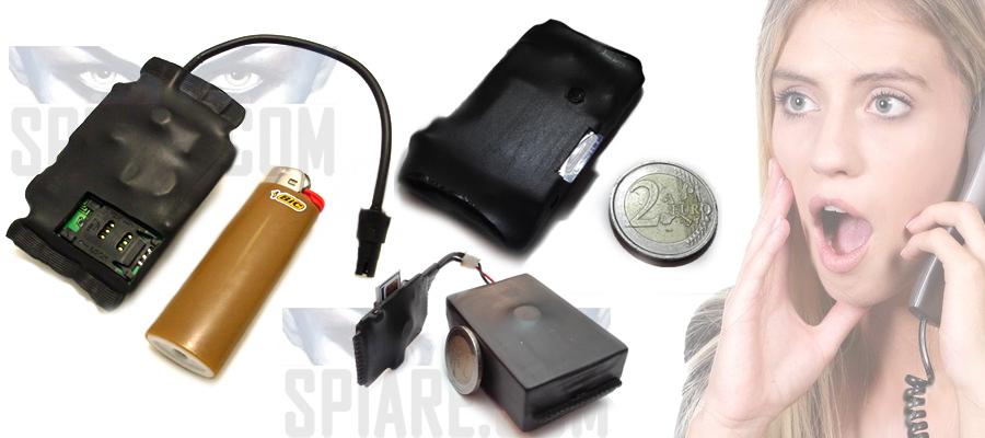 Microspie GSM per Automobili e Casa