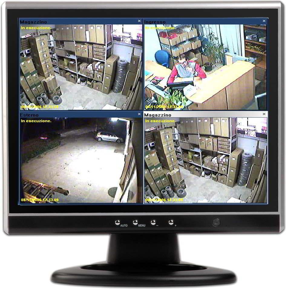 Monitor per videosorveglianza a circuito chiuso - Sistema di aerazione per casa ...